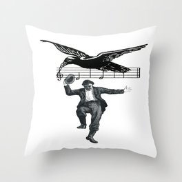 Saved By The Music  Throw Pillow