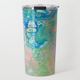 Paint Ball Rainbow Travel Mug