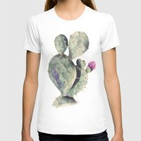 cactus T-shirts featuring CACTUS by Annet Weelink Design