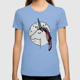 Sleeping Night Unicorn T-shirt