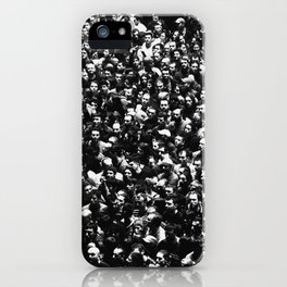 The Crowd iPhone Case