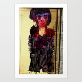 AA Girl Art Print