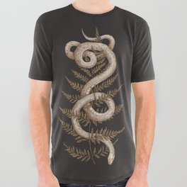 The Snake and Fern All Over Graphic Tee