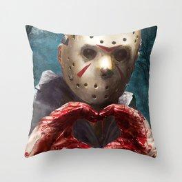 Love, Jason Throw Pillow