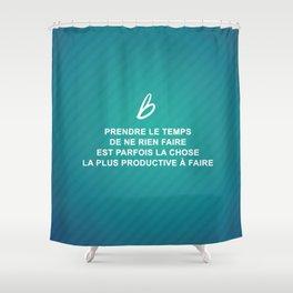 Les Recettes du bonheur  - FOOD Shower Curtain