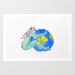 Mother Nature's Embrace Print Art Print