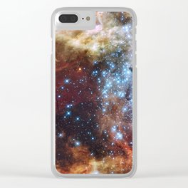 Grand star-forming region R136 in NGC 2070 Clear iPhone Case