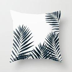Fern Black Throw Pillow