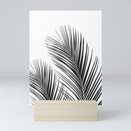 Tropical Palm Leaves #1 #botanical #decor #art #society6 Mini Art Print