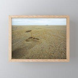 Footsteps Framed Mini Art Print