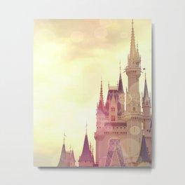 Disney Cinderella Castle Metal Print