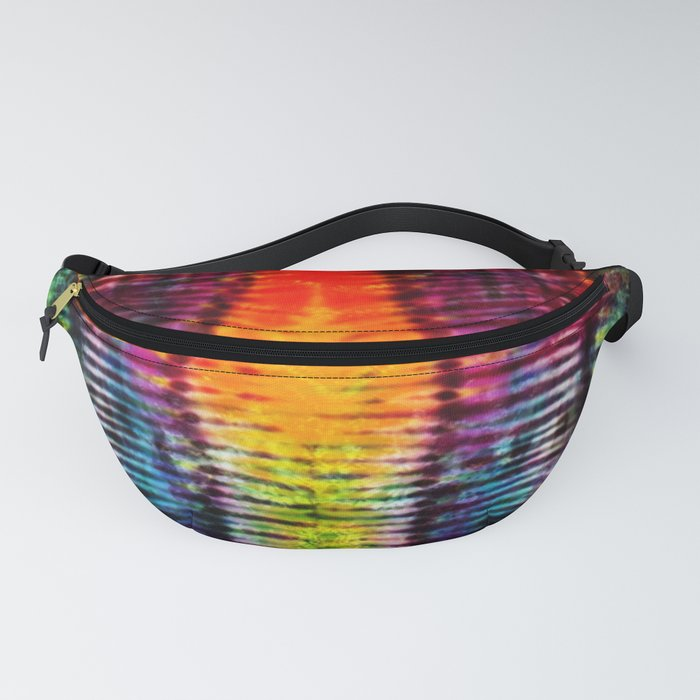 Moving on Up Tie Dye Fanny Pack