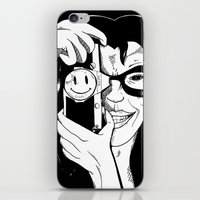 harley iPhone & iPod Skins featuring Harley by Milla Mortyr