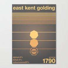 east kent golding single hop Canvas Print