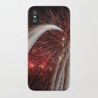 fireworks iPhone & iPod Cases featuring Fireworks by Carolina Jaramillo