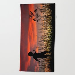 The Beginning of a Journey Beach Towel