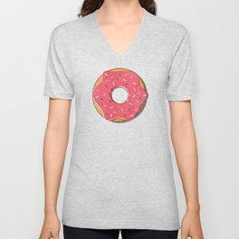 FAST FOOD / Donut Unisex V-Neck