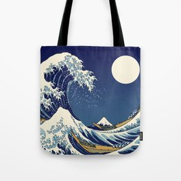 Rogue Wave at Kanagawa Tote Bag