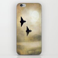 foo fighters iPhone & iPod Skins featuring Euro Fighters by Peaky40