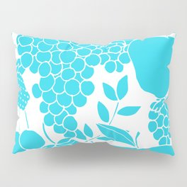 Fruit in Blue and White Pillow Sham