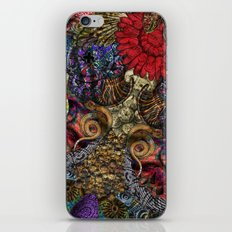 Psychedelic Botanical 11 iPhone & iPod Skin