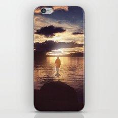 Walking to the sun iPhone & iPod Skin