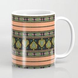 Persian Tapestry Coral Peach Coffee Mug
