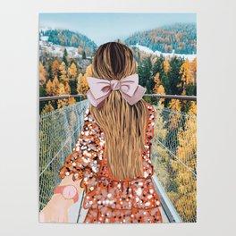 Follow Me Swiss Alps Poster