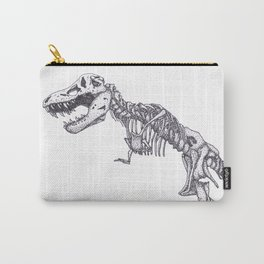 Tyrannosaurus rex skeleton Carry-All Pouch