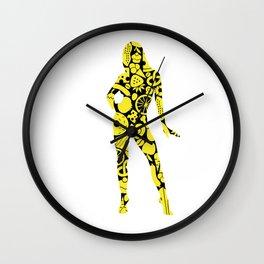 Diet Woman Wall Clock