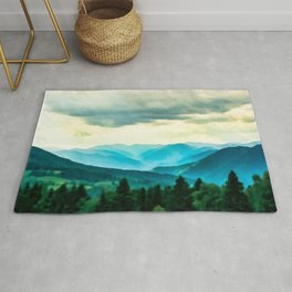 Clouded Beauty Rug