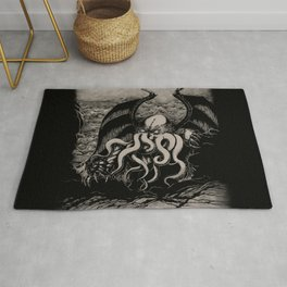 The Rise of Great Cthulhu Rug