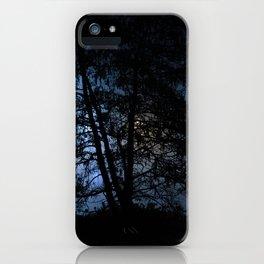 Multi Coloured Light Through the Trees iPhone Case