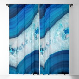 Blue Agate Blackout Curtain