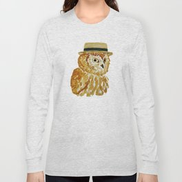 Dapper Owl or Owl Capone? Long Sleeve T-shirt