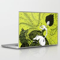 dress Laptop & iPad Skins featuring Dress by Oeilbleu