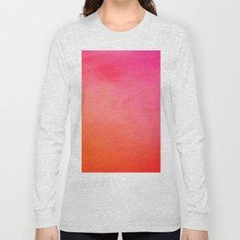 PinkOrange Gradient Long Sleeve T-shirt