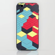 Two Sides A + B iPhone & iPod Skin