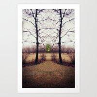 portal Art Prints featuring Portal by KunstFabrik_StaticMovement Manu Jobst