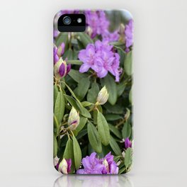 We Play With Flowers iPhone Case