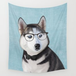 Mr Husky Wall Tapestry