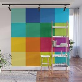 Artist Color Palette Wall Mural