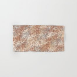 Cavern Clay SW 7701 and Abstract Distressed Chaotic Sponge Paint Pattern 2 Hand & Bath Towel