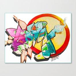 """On Zion"" Canvas Print"