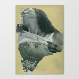 Gold is God. 1. Canvas Print