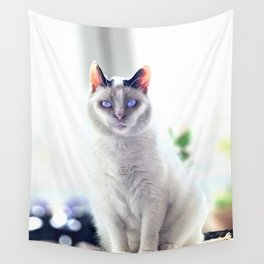 The Magic Cat Wall Tapestry