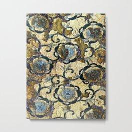 Peonies Pattern Metal Print