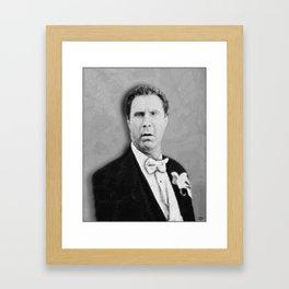 Ferrell Old School Framed Art Print