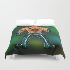 Leather Daddy Duvet Cover