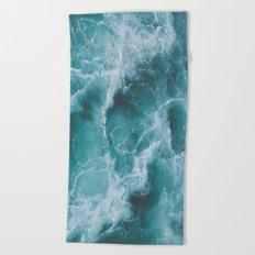 Electric Ocean Beach Towel